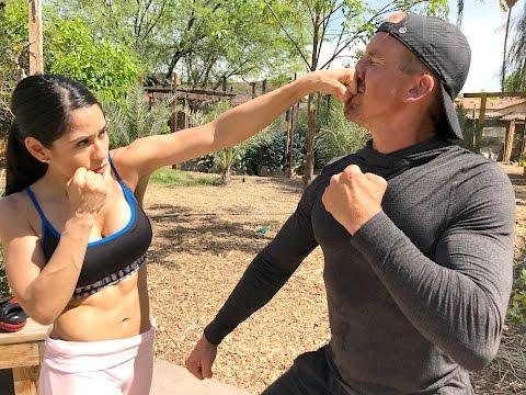 Baixar SELF DEFENSE FOR WOMEN - Girl Defeats Guy in STREET FIGHT