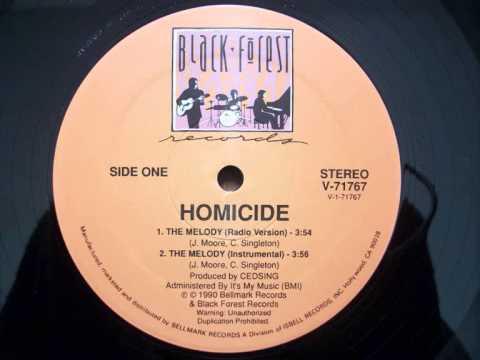 Homicide - The Melody (Radio Version) (1990)