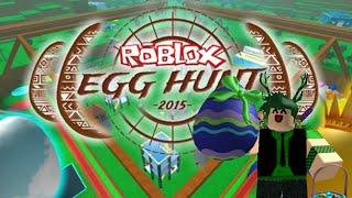 Roblox Egg Hunt 2015! - Ripull Minigames! [3]