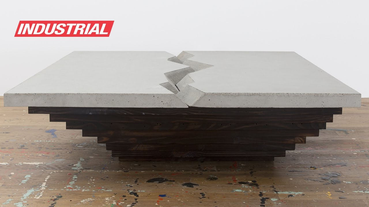 Cnc Project Concrete Canyon Coffee Table Design By Uhuru Toolstoday