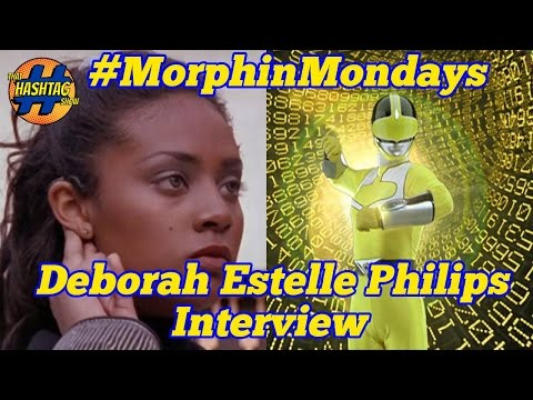 Deborah Estelle Philips Interview (Power Rangers Time Force) Morphin' Monday