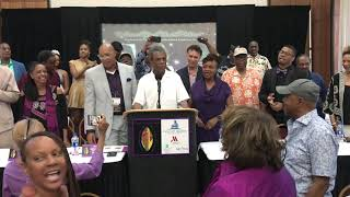 Tony Winner André De Shields 'lifts every voice' at the National Black Theatre Festival Kickoff
