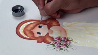 Como pintar una muñeca Paso a paso (3/3)