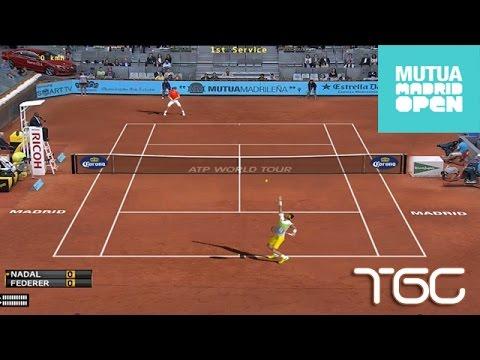 Elbow  Madrid Rafael Nadal Vs Roger Federer