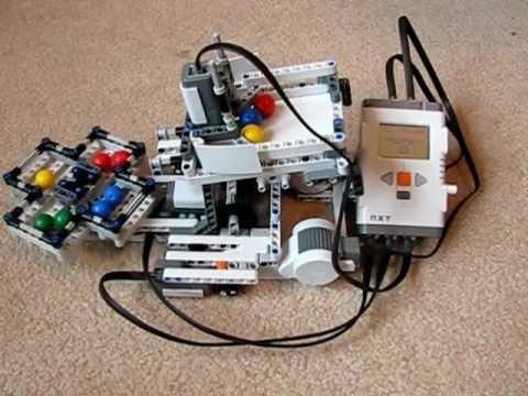 Lego Mindstorms Color Sorter - YouTube