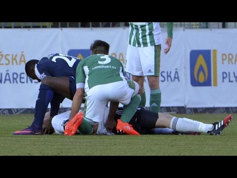 Francis Koné saves the life of opposing goalkeeper Martin Berkovec– video