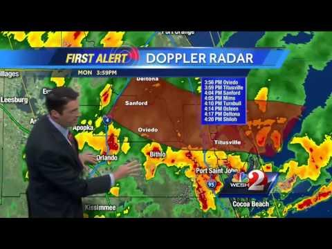 Heavy rain, storms move through Central Florida