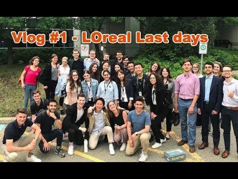 Vlog 1 : L'Oreal Canada Marketing Internship