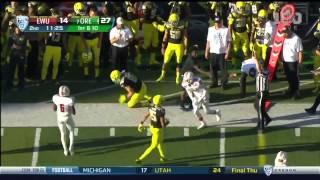 Oregon Ducks vs. Eastern Washington- Ducks Highlights 09/05/2015