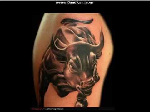 Taurus tattoo for men and women