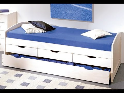 Awesome Single Bed With Storage Drawers White UK