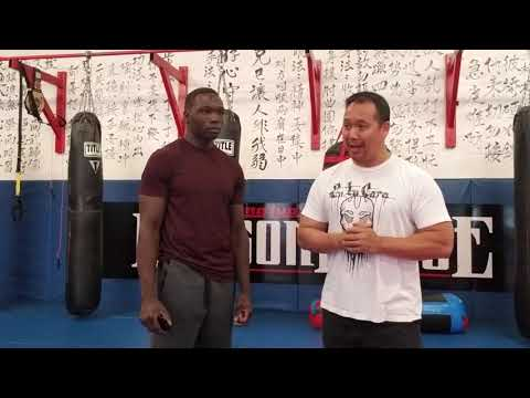 Dragon House 30 Danasabe Mohammed Pre fight interview.