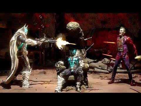 Mortal Kombat 11 Spawn All Brutalities & Fatalities MK11 Spawn Brutality Fatality