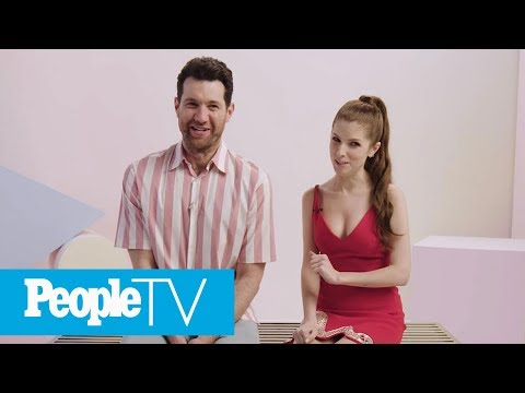 Anna Kendrick & Billy Eichner Dish On Their Disney+ Movie 'Noelle' | PeopleTV | Entertainment Weekly