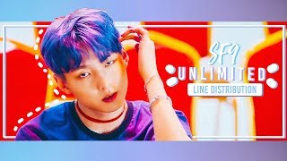 SF9 (??????) / UNLIMITED   LINE DISTRIBUTION