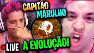 🔴X1 AGORA SÓ VEM - CAPITÃO MARULHO - FREE FIRE AO VIVO🔴