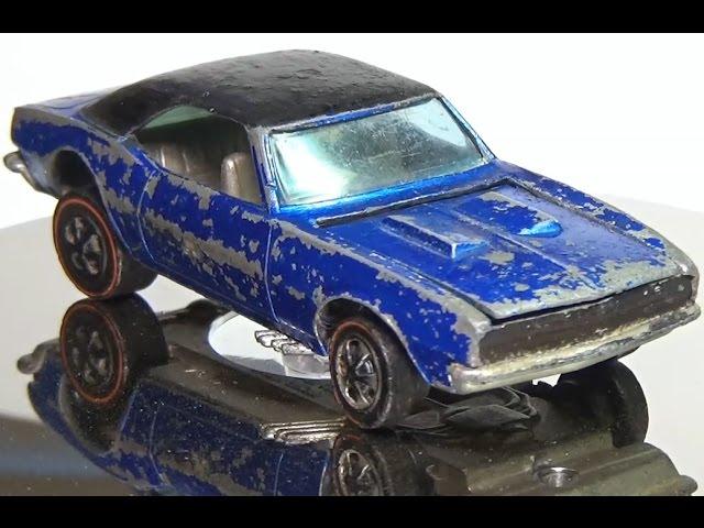 Asi Se Restaura Un Camaro De 1968 Pero De Hot Wheels Oxidado Y De