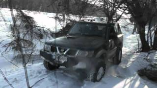 Iarna in padure la Babadag 29 01 2012