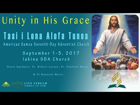 AS SDA Mini-Fono   Pr Robert Larsen & Kenneth Maisa   Divine Service - Sept 2, 2017