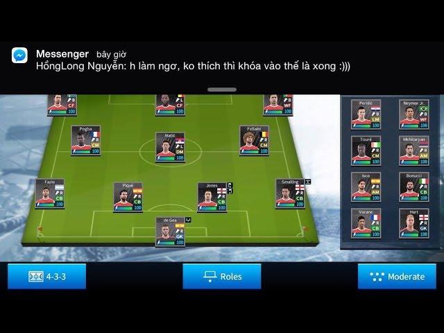 HONGLONG TV: Tìm ra cách sắp xếp đội hình hiệu quả * Dream League Soccer 2017
