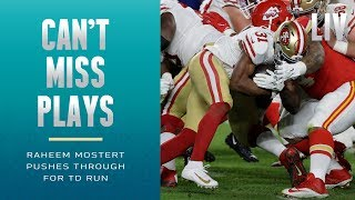 Raheem Mostert Bulldozes Through to Extend 49ers Lead