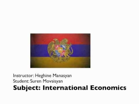 Export-Led Industrial Policy of the Republic of Armenia