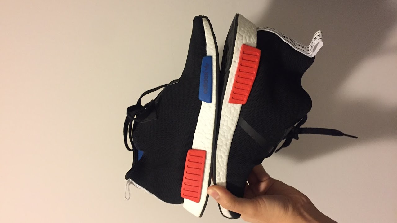 Adidas NMD R1 Runner Trail W BB3692 Utility Green Teal White