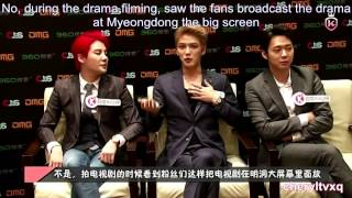 [Eng Sub] 140826 Baidu King Chart Interview 百度king榜专访 - JYJ