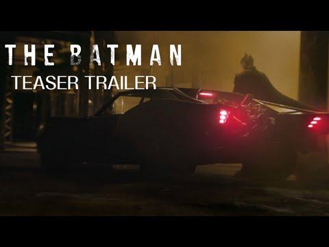 THE BATMAN TEASER TRAILER (2021) ROBERT PATTINSON MOVIE