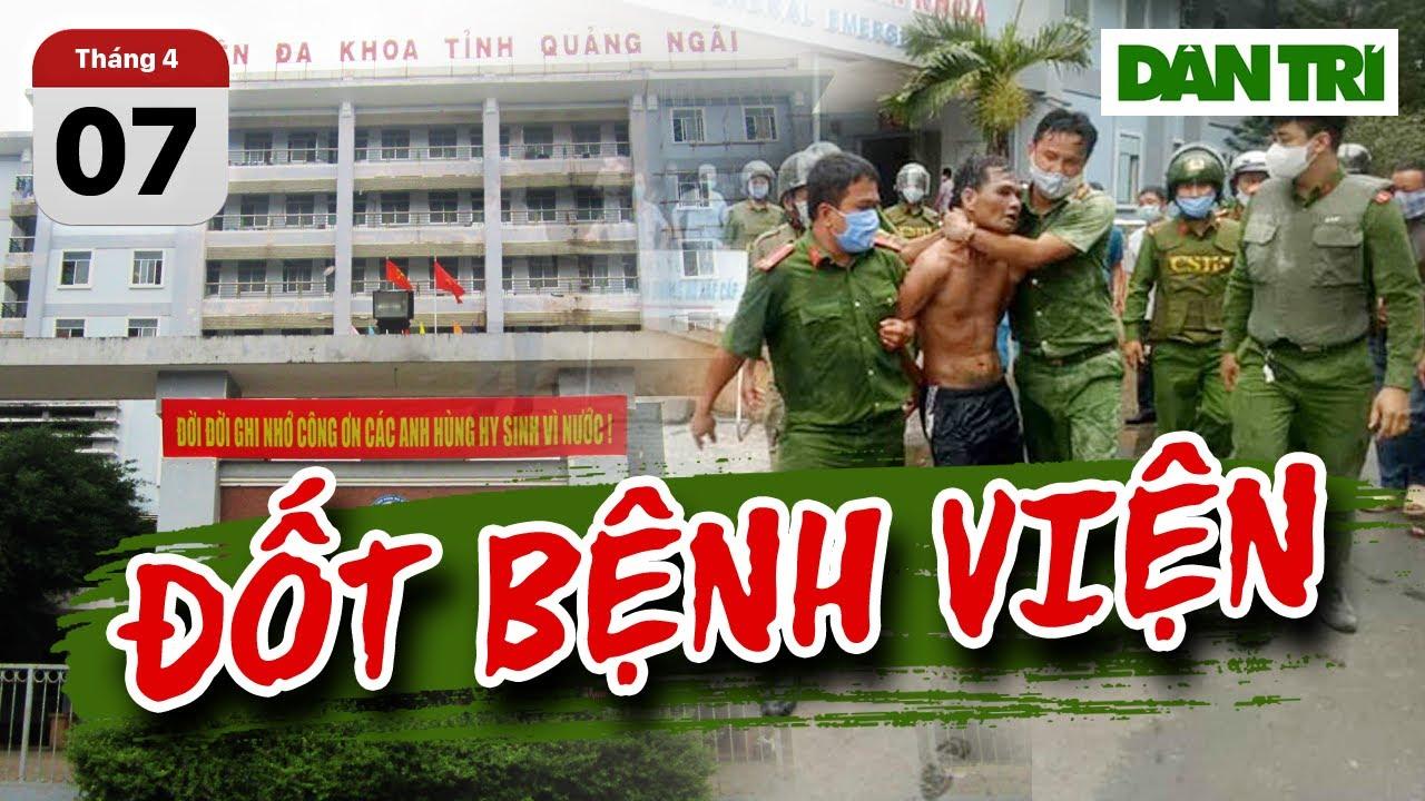 Bắt giữ người đàn ông chửi bới, mang xăng ra đốt bệnh viện Quảng Ngãi