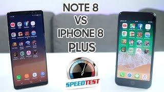 Speedtest iPhone 8 Plus vs Galaxy Note 8: Ông vua hiệu năng 2017 thuộc về... [ENGSUB] thumbnail