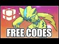 Obtaining Zeraora Event - FREE CODES INCLUDED!
