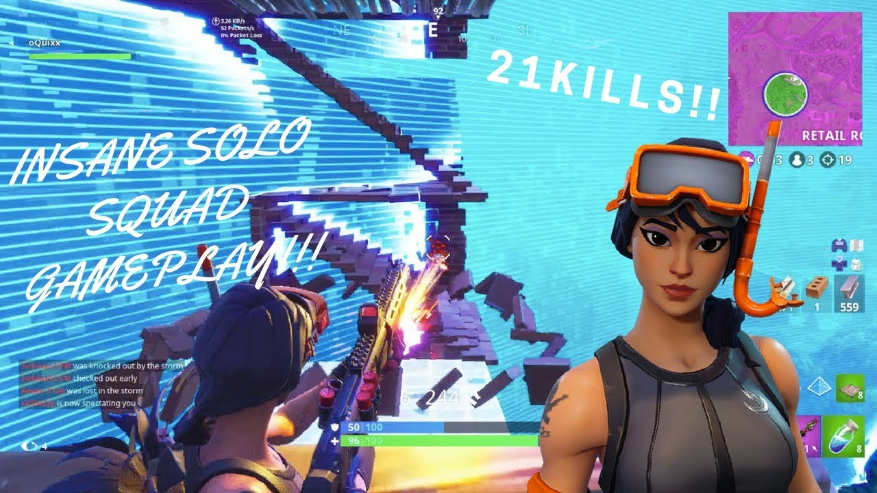26 Kill 3 Man Squads Game On Console Fortnite Battle Royale Youtube