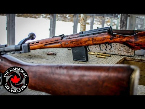 Russian SVT-40 - From The Bench