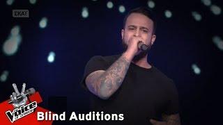 Κωνσταντίνος Κυριάκου - Somebody told me | 7o Blind Audition | The Voice of Greece