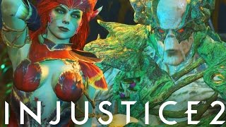 Injustice 2: Poison Ivy Vs Swamp Thing Gameplay! (Injustice Gods Among Us 2)