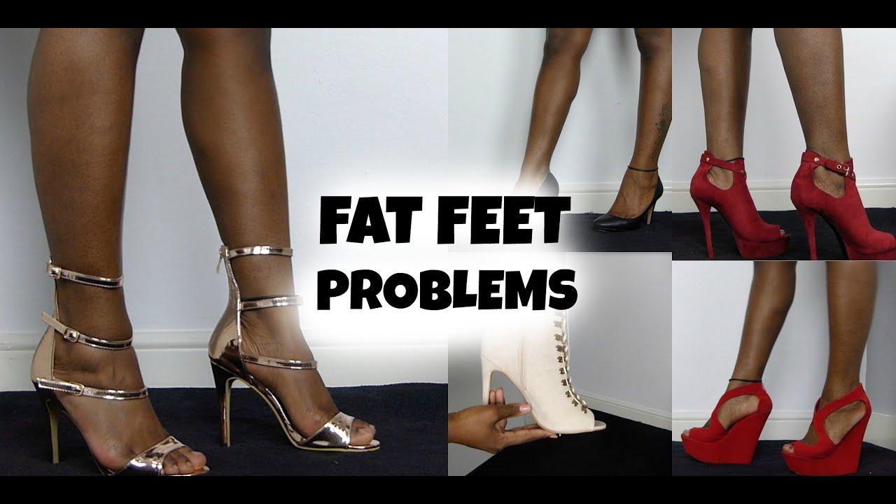 Chubby women feet