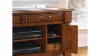 Home Styles 5520-09 Aspen Tv Stand Rustic Cherry Finish