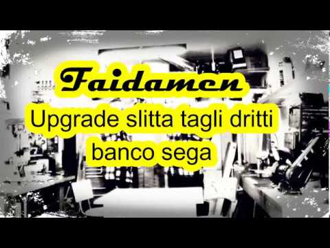 21 upgrade slitta per banco sega fai da te diy youtube