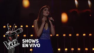 Live Shows #TeamAxel: Amorina canta Por debajo de la mesa de Luis Miguel - La Voz Argentina 2018 YouTube Videos