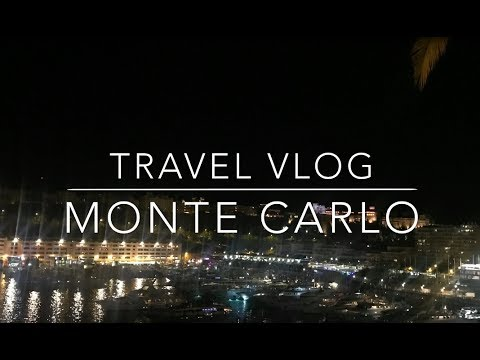 MONTE CARLO - Travel Vlog
