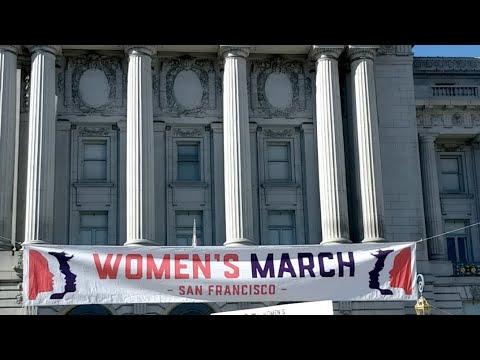 San Francisco Women's March 2018 Livestream ♀️🇺🇲