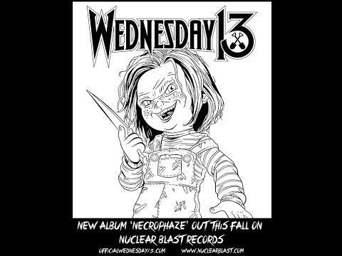 Wednesday 13 new album Necrophaze - Alexi Laiho, Cristina Scabbia and Mayorga guest..