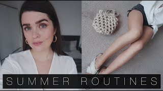 Summer Beauty Routines: Hair Removal, Tanning & More | The Anna Edit