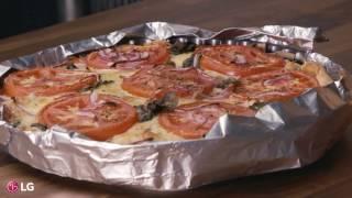 LG présente: Les bouchées de Chuck - Tarte aux tomates