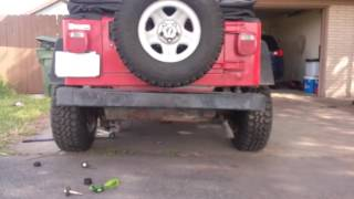 """Rough country """" body lift installation Jeep wrangler tj"""