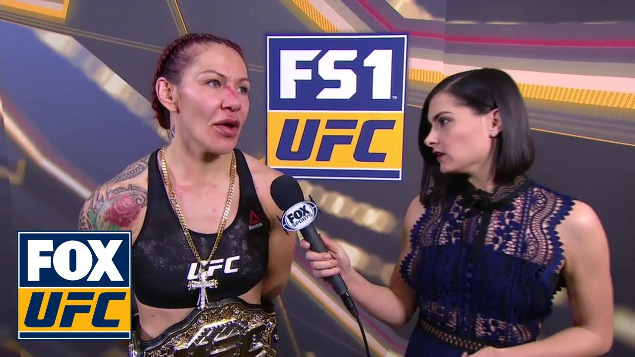 Cris Cyborg Talks with Megan Olivi | INTERVIEW | UFC 219