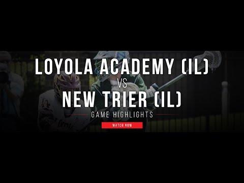 Loyola Academy vs New Trier | 2017 Illinois High School Lacrosse State Championship |
