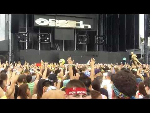 Dash Berlin @ Electric Zoo 2012 (HD Opening)