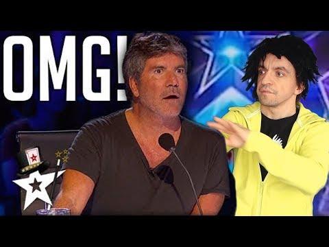 NEVER SEEN BEFORE! SHOCKING MAGIC TRICKS at Britain's Got Talent  - America's Got Talent (parody)